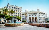La Grande poste à Alger