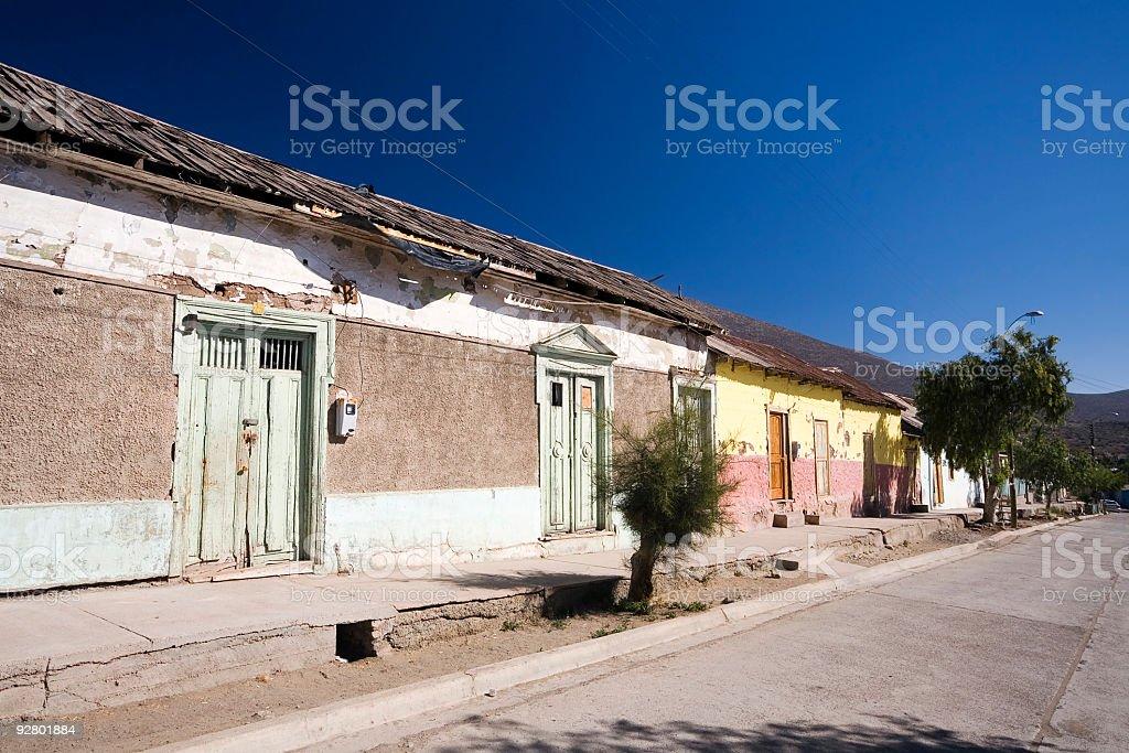 La Higuera, Chile stock photo