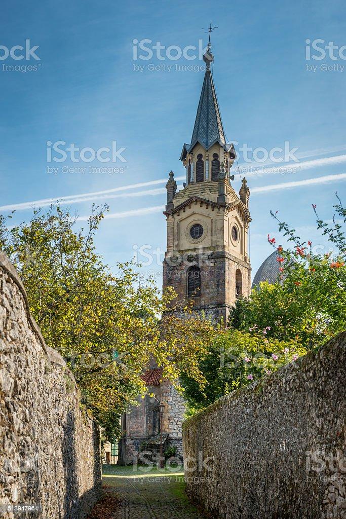 La Iglesia, Ruiloba - Spain stock photo