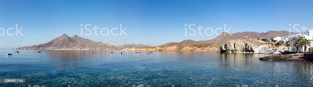 La Isleta del Moro stock photo