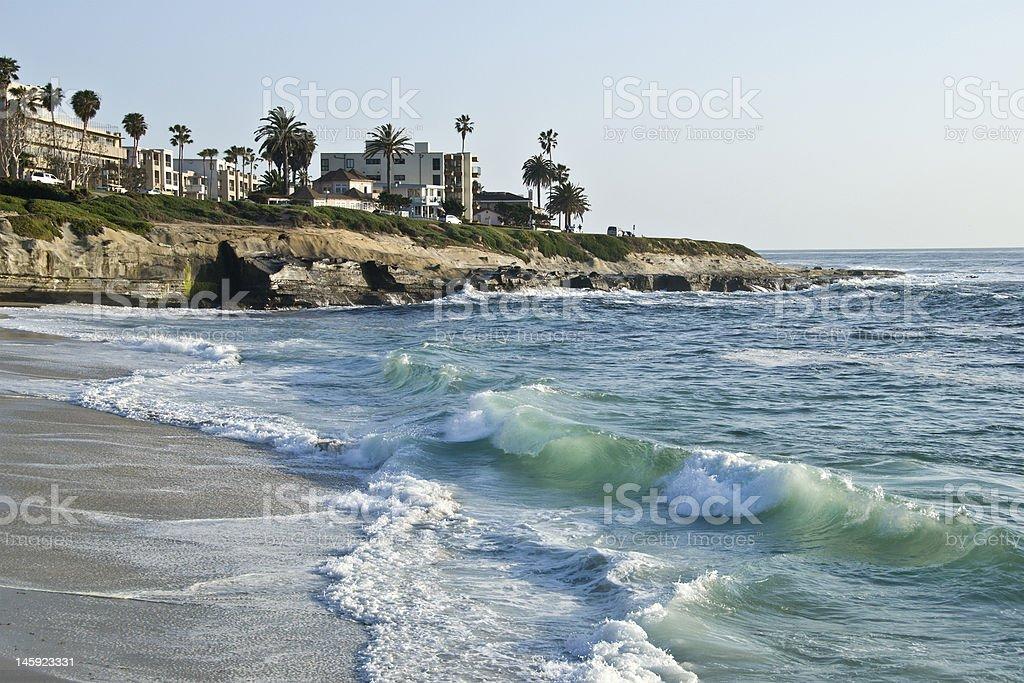 La Jolla beach, California stock photo