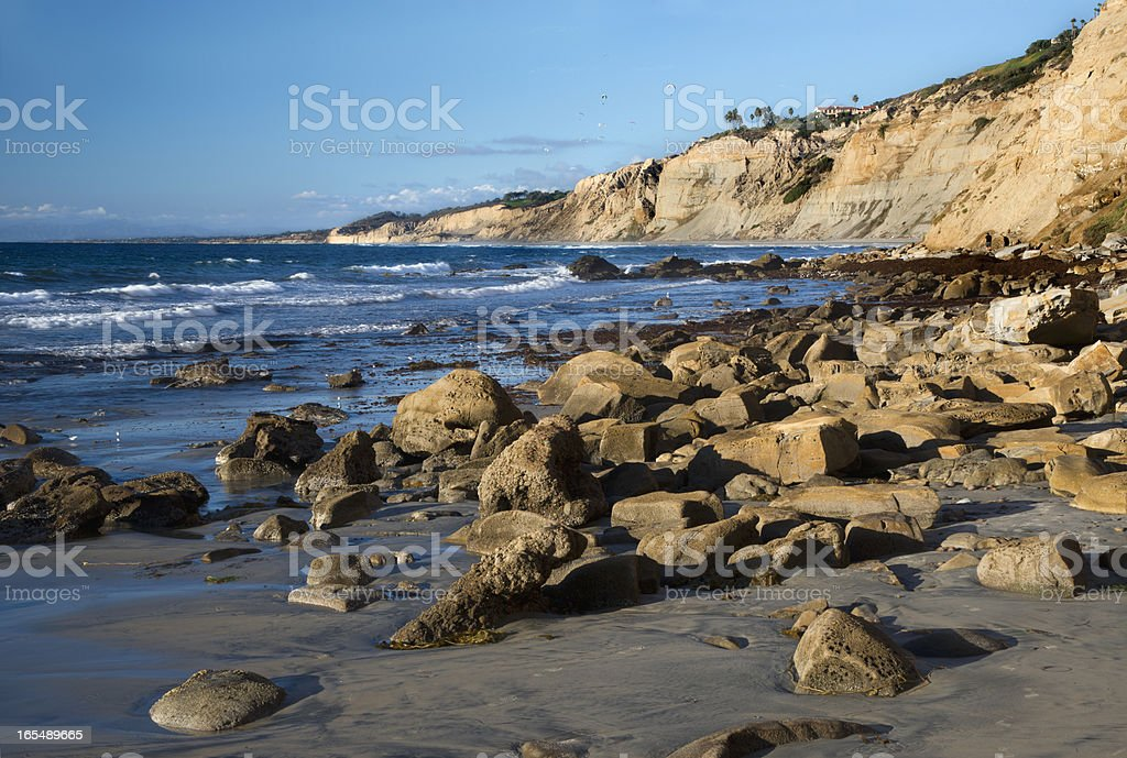 La Jolla Beach stock photo