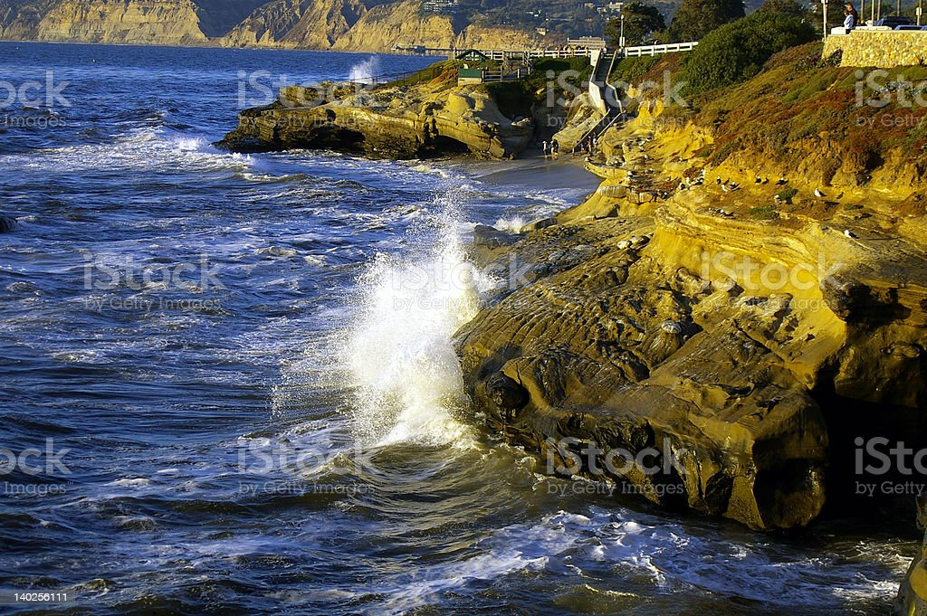 La Jolla, California royalty-free stock photo