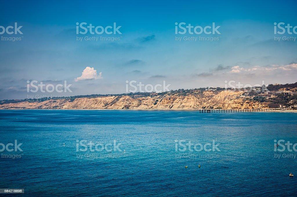 La Jolla California Seascape stock photo