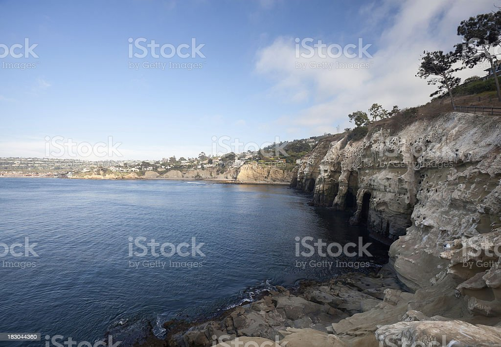 La Jolla Cliffs, San Diego stock photo