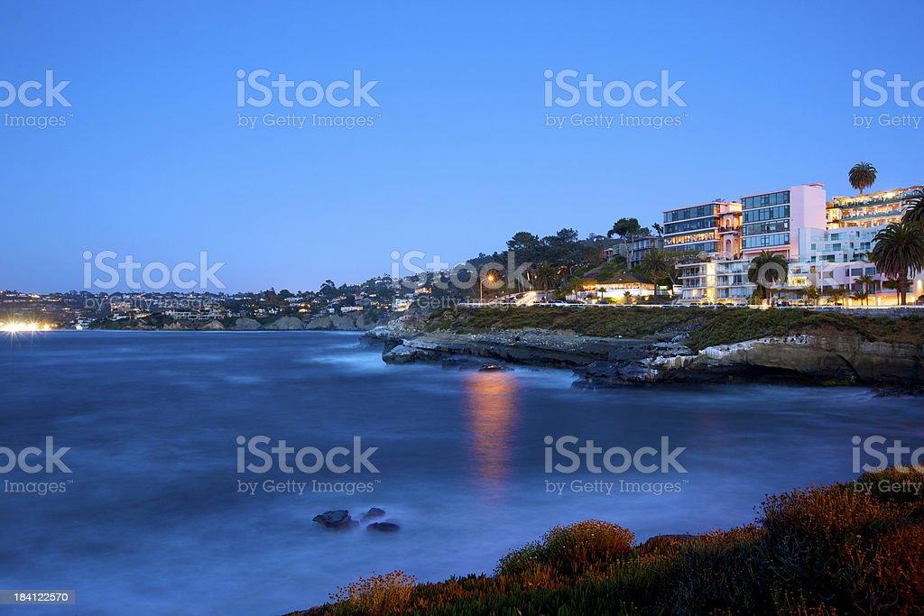 La Jolla Cove royalty-free stock photo