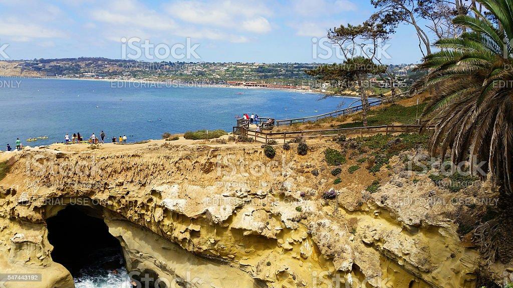 La Jolla, San Diego, California stock photo