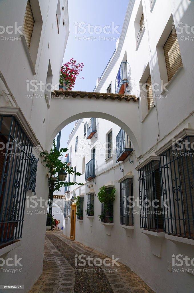 La Juderia in Cordoba, Spain stock photo
