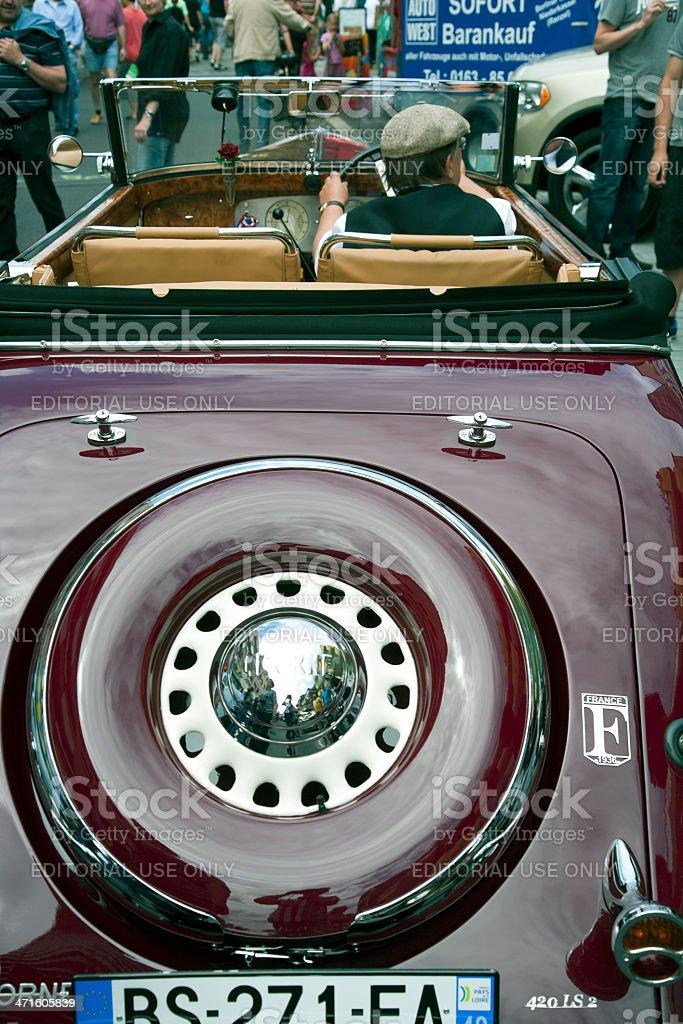 La Licorne oldtimer royalty-free stock photo