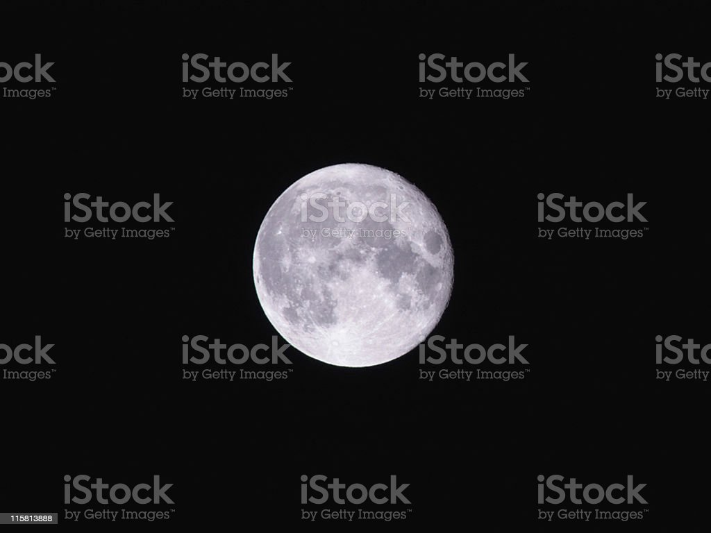La Luna royalty-free stock photo