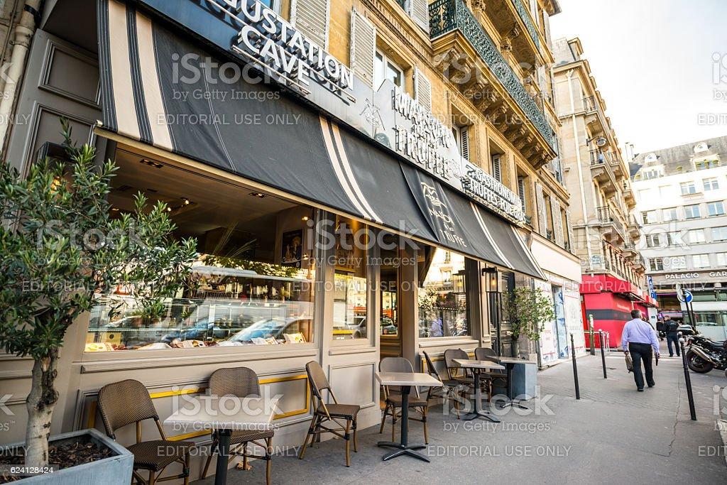 La Maison de la Truffe, Paris, France stock photo