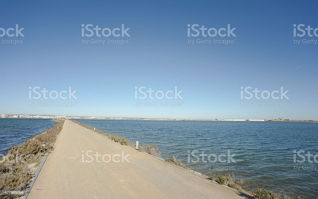 La Manga del Mar Menor royalty-free stock photo