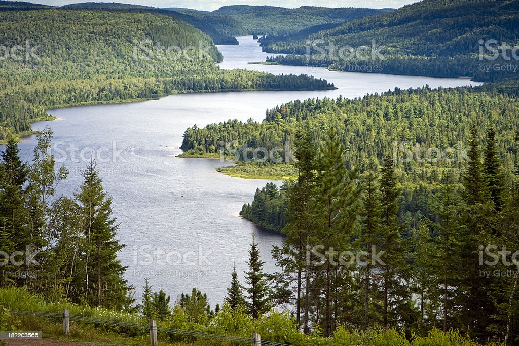 Parc National de la Mauricie stock photo