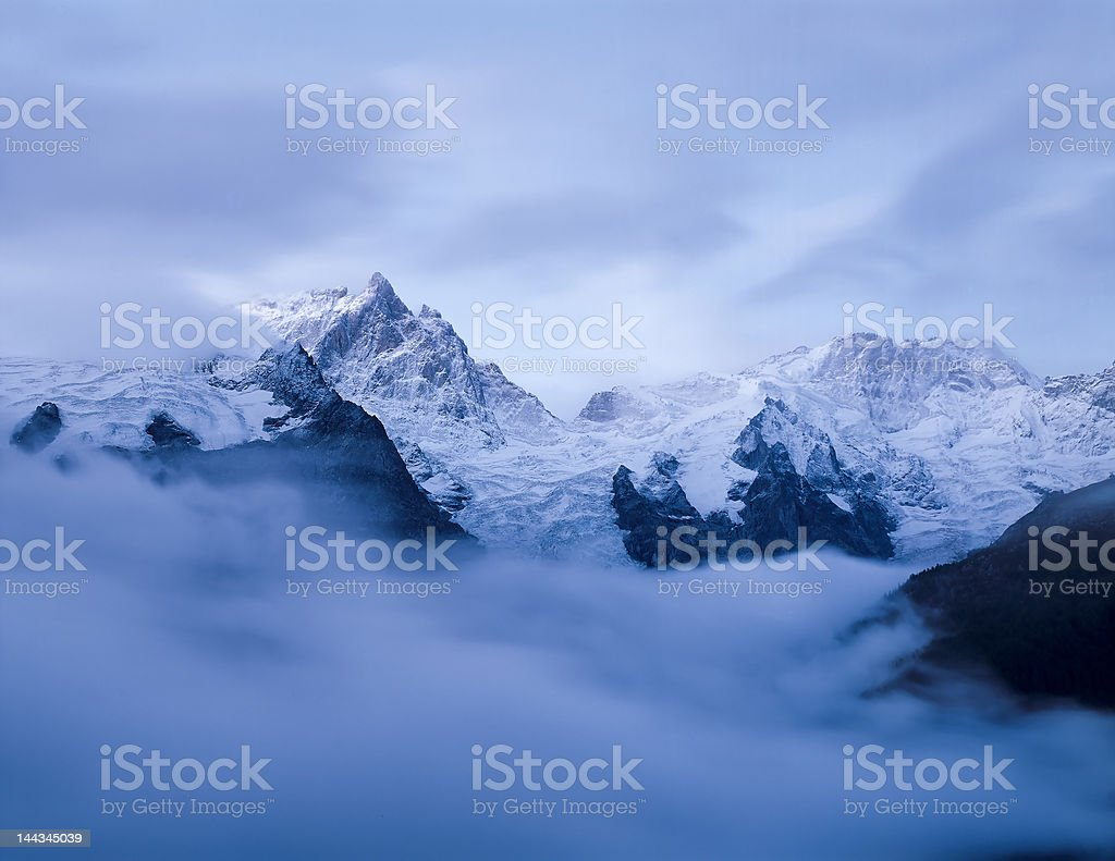 la meje mountain french alps stock photo
