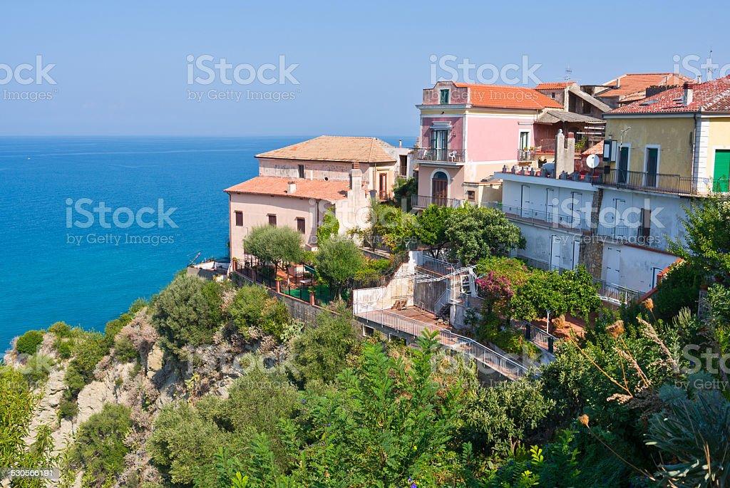 la mer en Italie stock photo