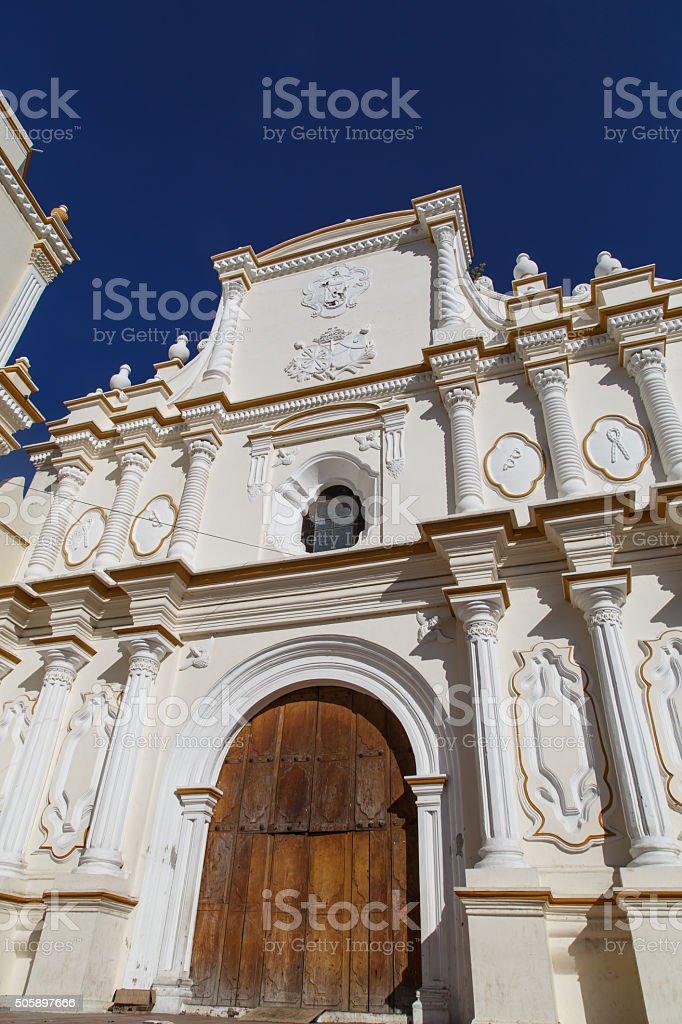 La Merced Church, Leon, Nicaragua stock photo