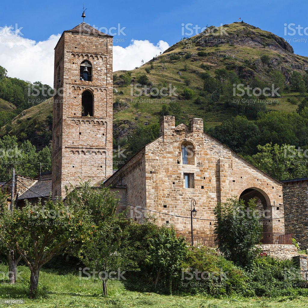 La Nativitat de Durro stock photo