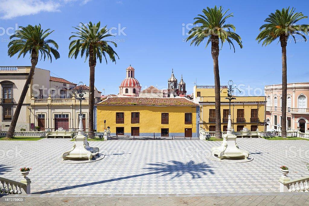 La Orotava, Tenerife stock photo