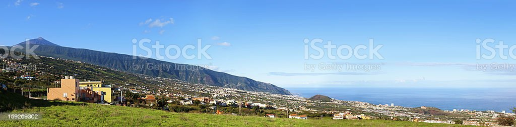 La Orotava View, Tenerife royalty-free stock photo