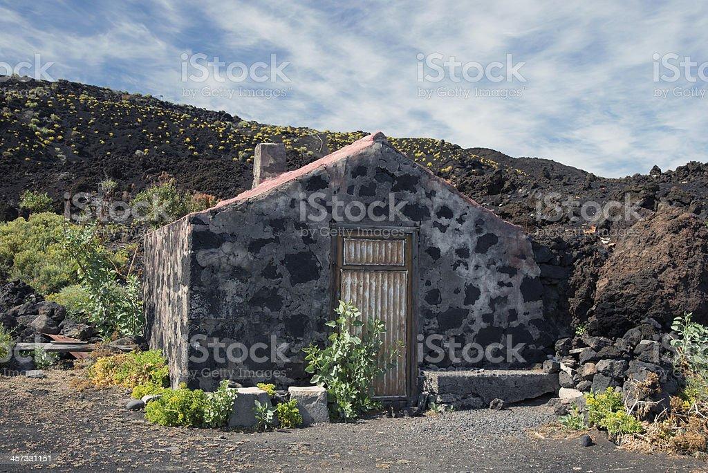 La Palma 2013 - an der S?dspitze stock photo