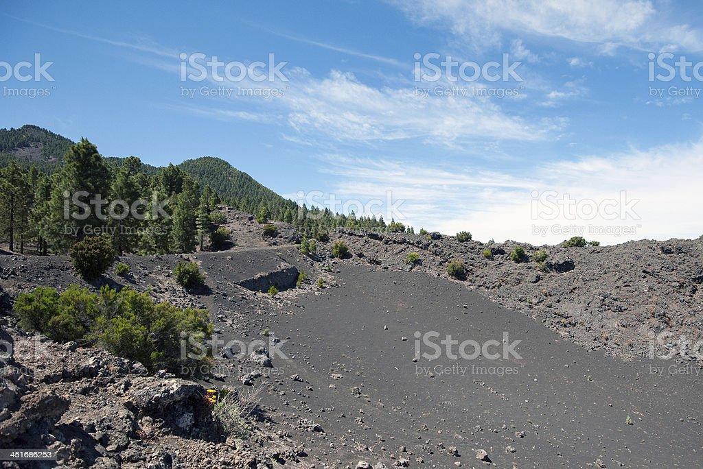 La Palma 2013 - Berg- und W?stenkulisse stock photo