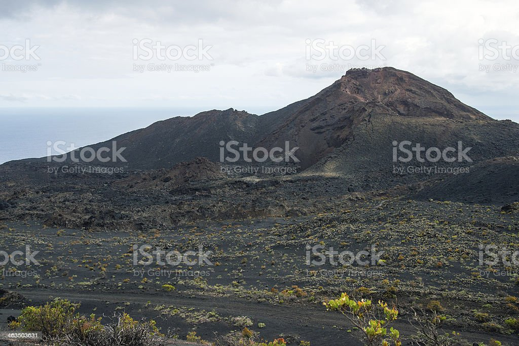 La Palma 2013 - Fuencaliente stock photo