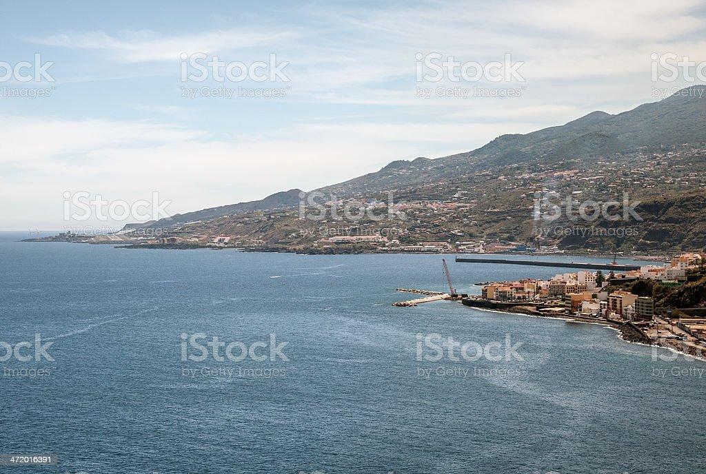 La Palma 2013 - Santa Cruz stock photo