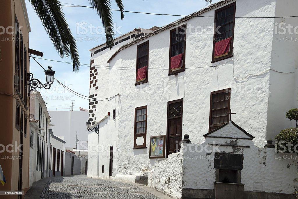 La Palma 2013 - Santa Cruz, Stadtansichten stock photo