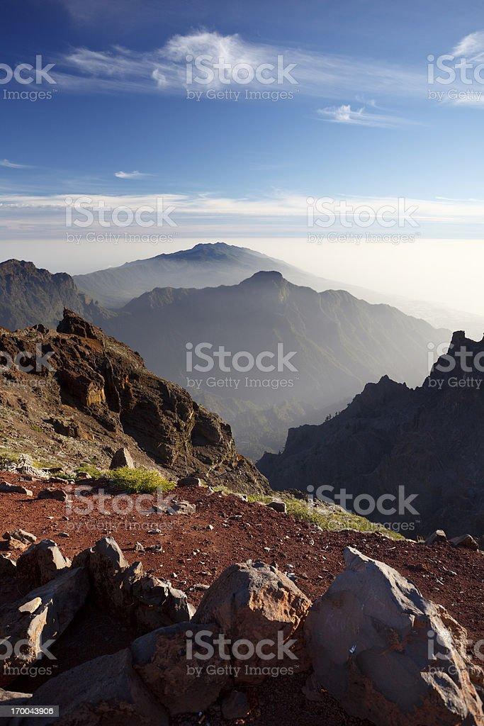 La Palma Mountains royalty-free stock photo
