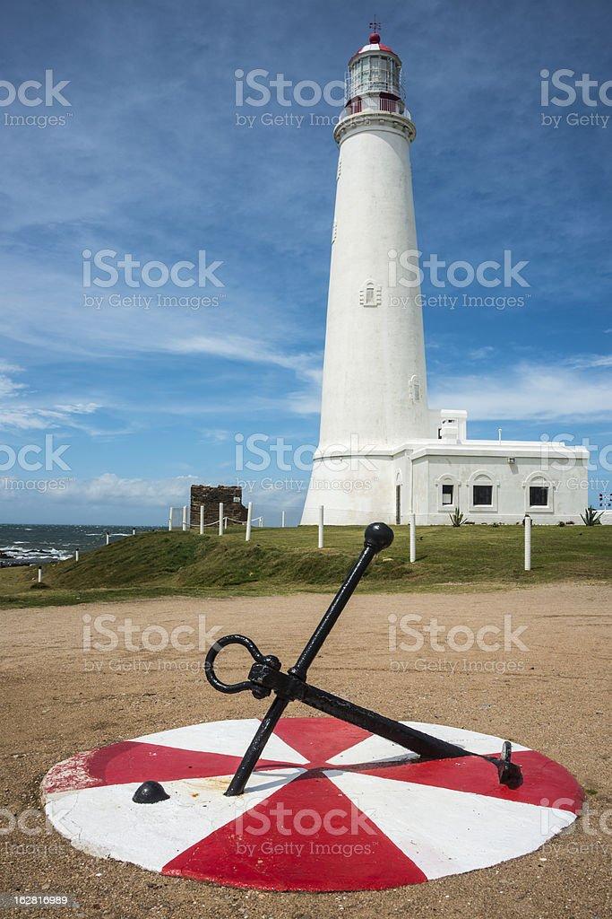 La Paloma lighthouse, Rocha, Uruguay royalty-free stock photo