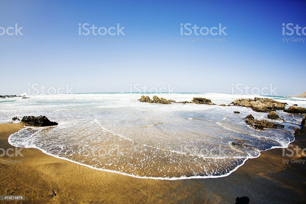 La Pared Fuerteventura stock photo