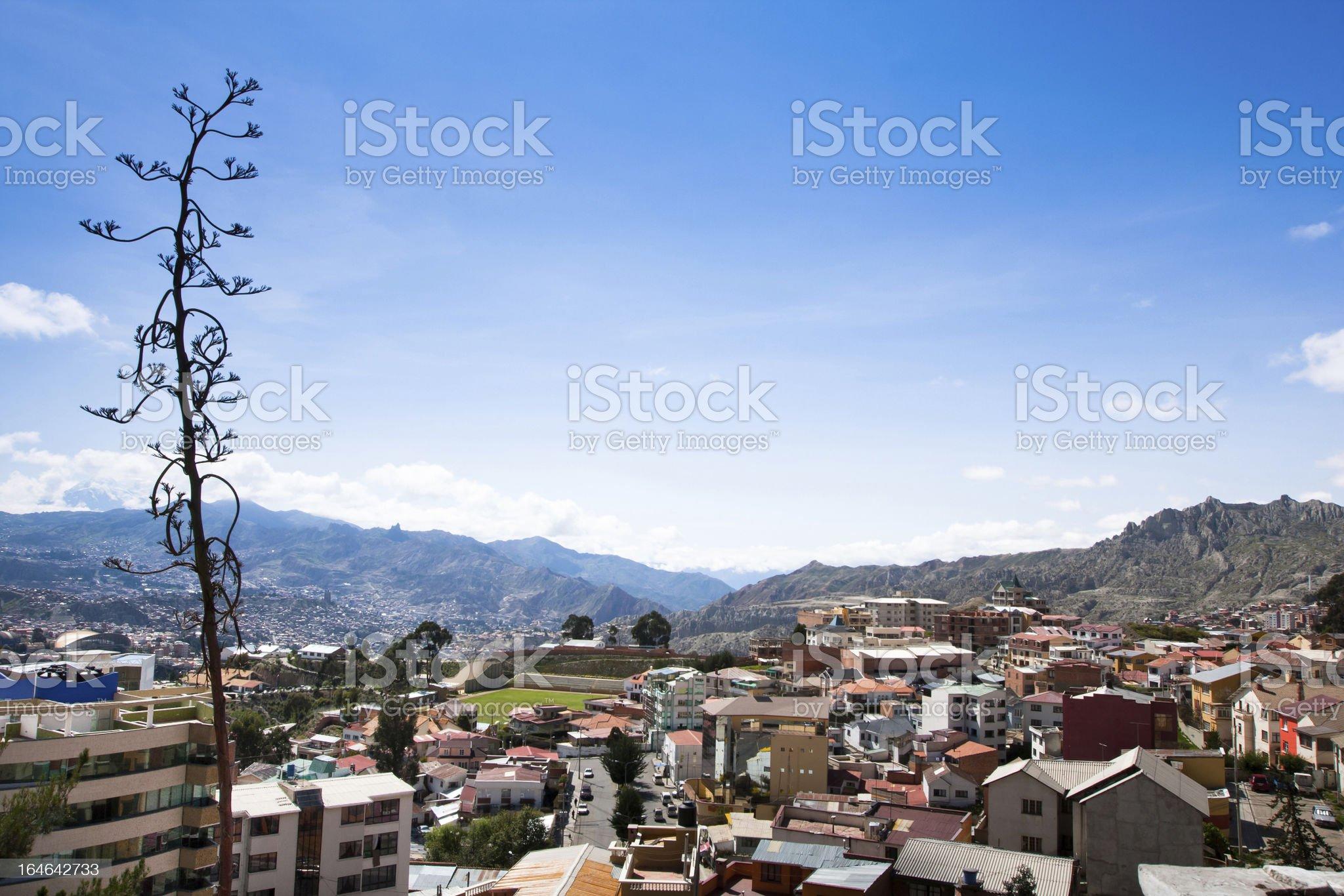 La Paz, Bolivia royalty-free stock photo