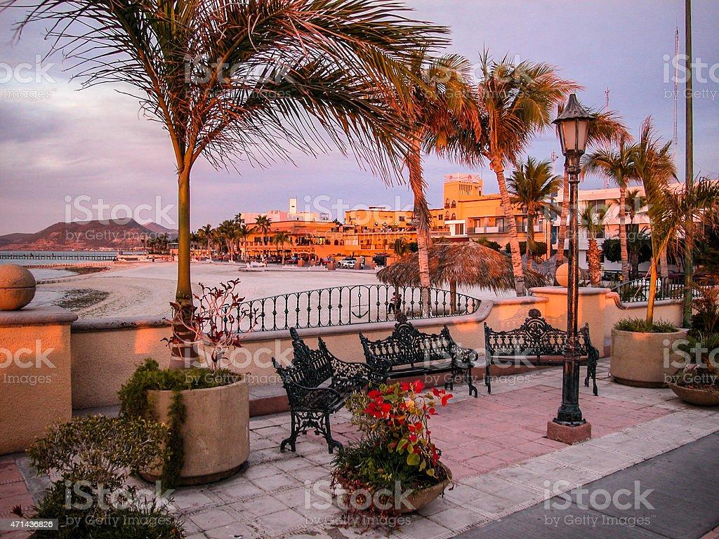 La Paz Promenade stock photo