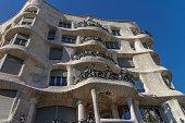 La Pedrera, Famous building was designed by Antoni Gaudi