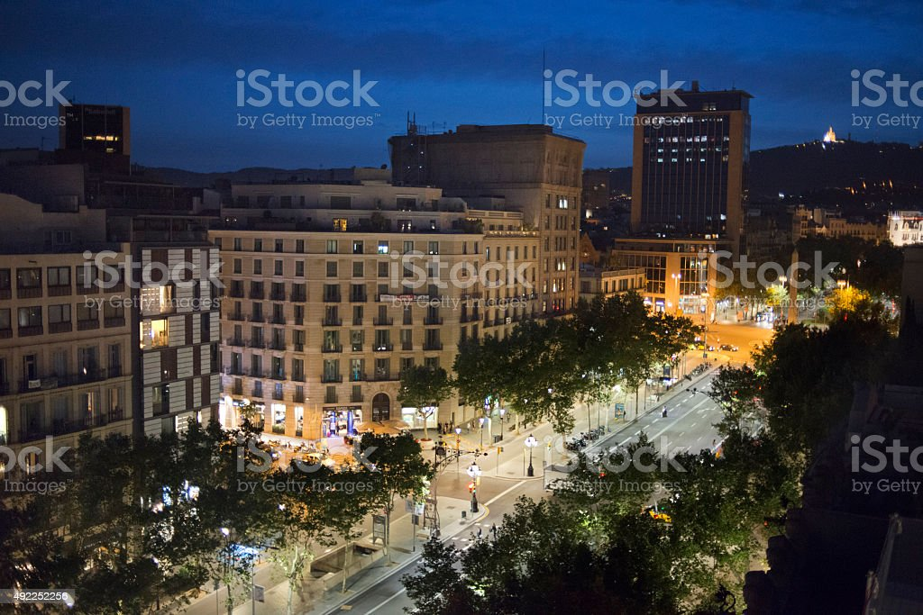 BARCELONA, La Pedrera stock photo