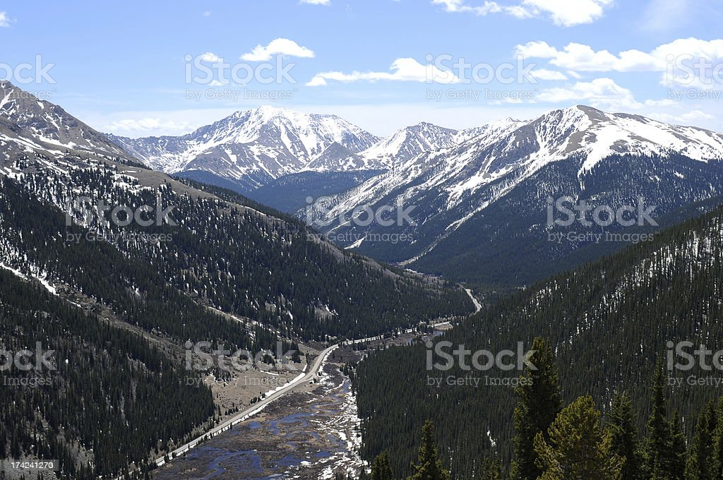 La Plata Peak stock photo
