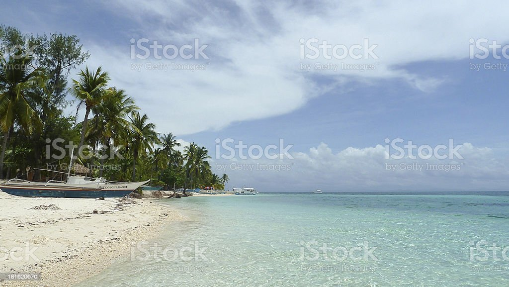 la playa stock photo