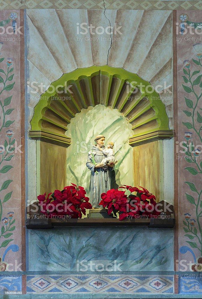 La Purisima Conception mission CA royalty-free stock photo