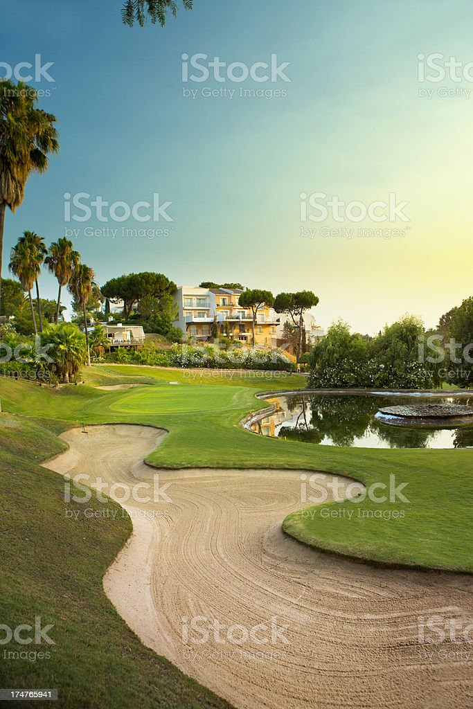 La Quinta Golf Course stock photo