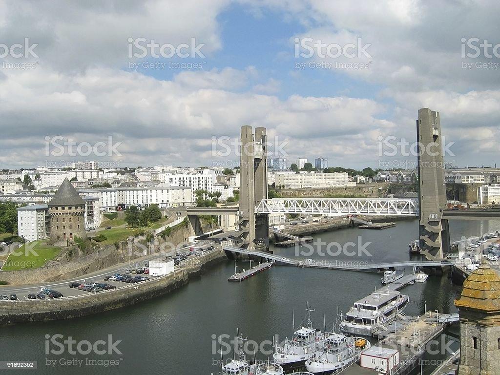 La recouvrance (Brest) stock photo
