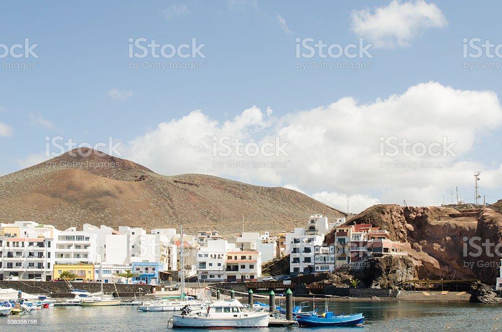 La Restinga, El Hierro, Canary island, Spain. stock photo