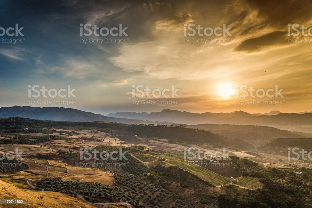 La Ronda Andalusia Spain stock photo