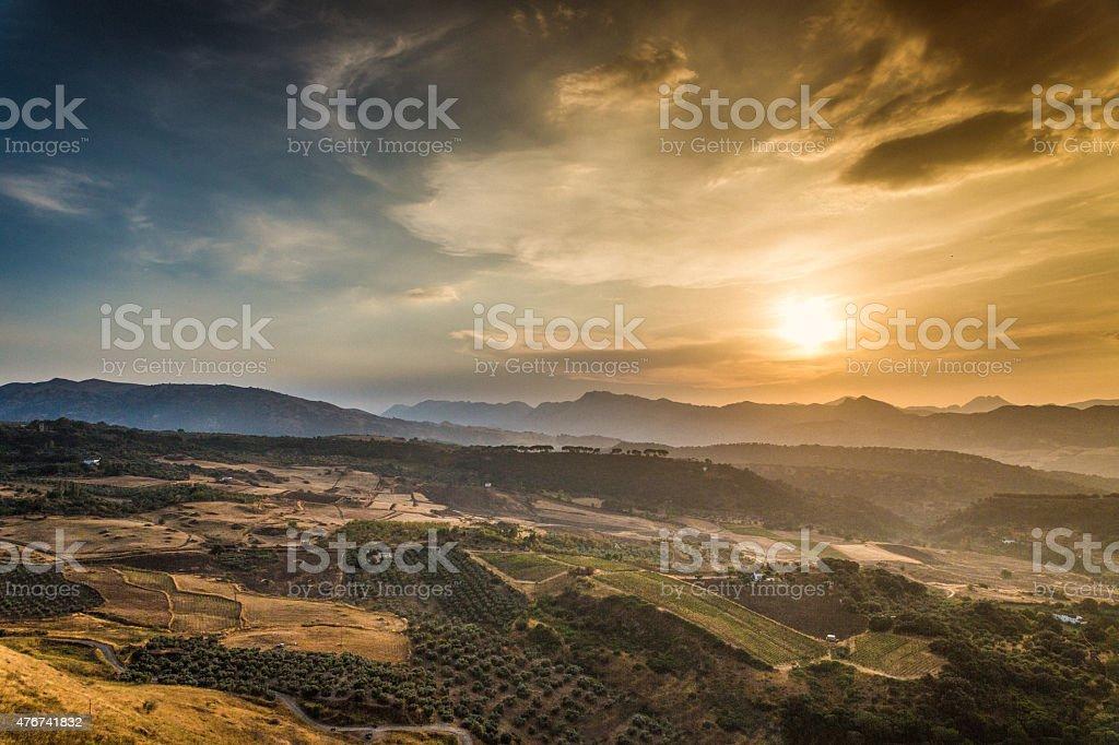 La Ronda Andalusia Spain stock photo