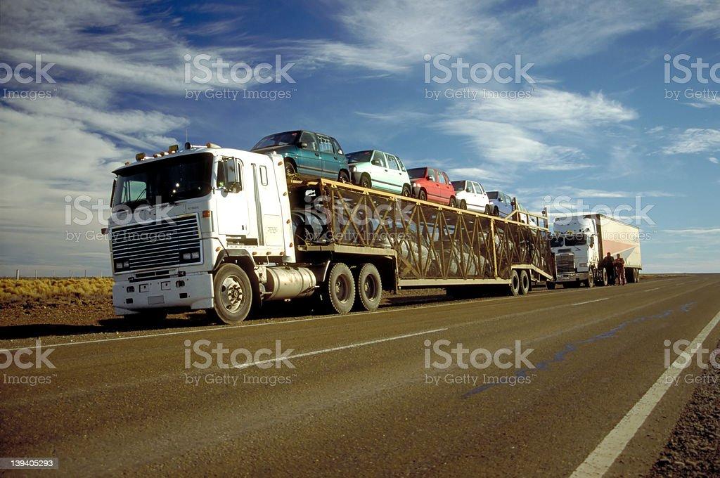 La Ruta 3 - Argentina royalty-free stock photo