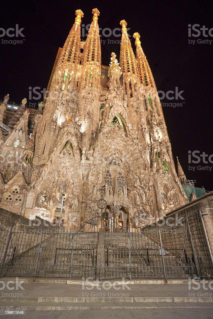 La Sagrada Familia, Barcelona. Spanien. – Foto