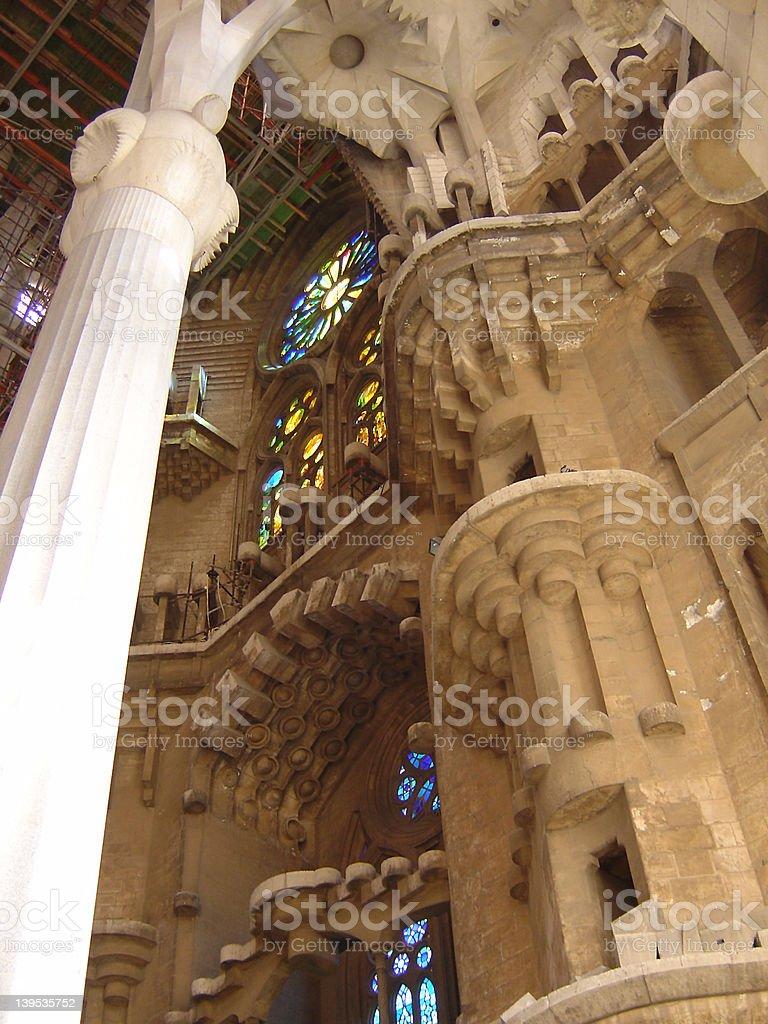 La Sagrada Familia5 royalty-free stock photo