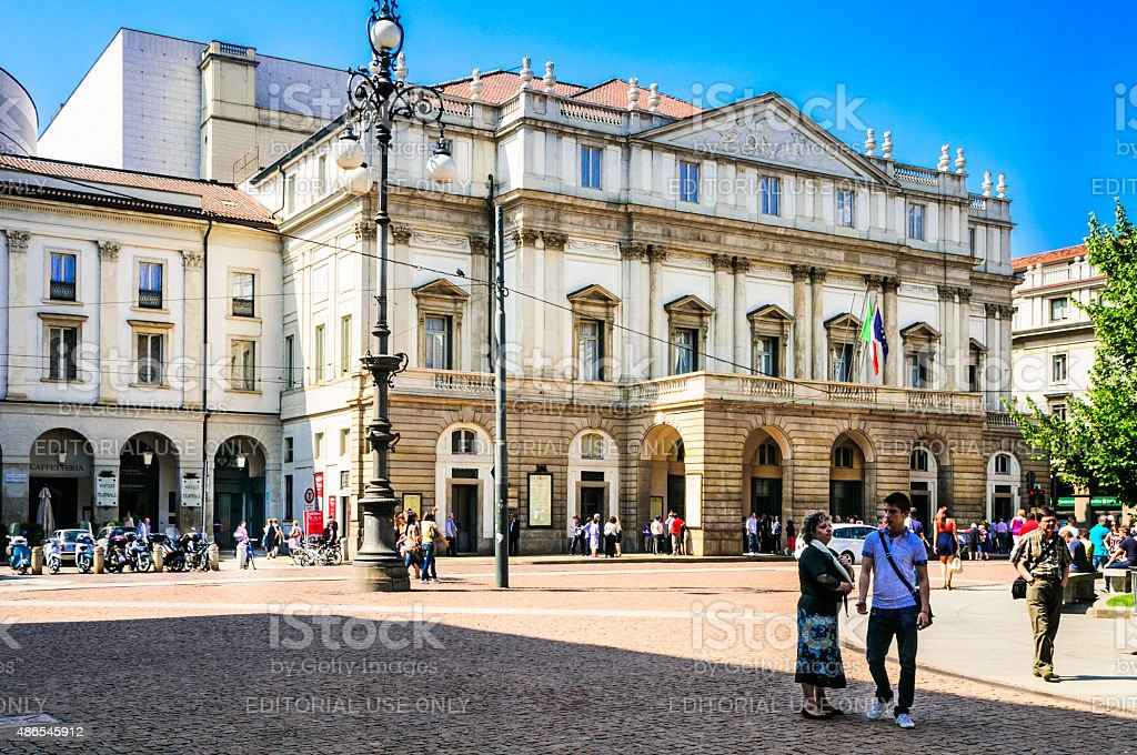 La Scala stock photo