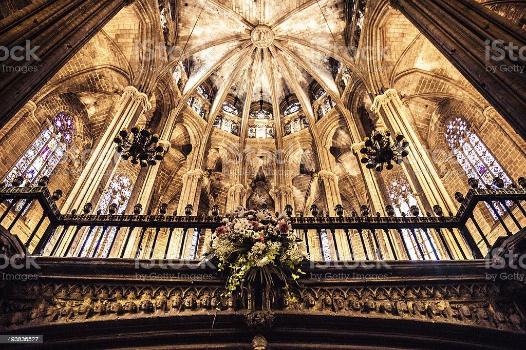 La Seu, Barcelona Cathedral stock photo