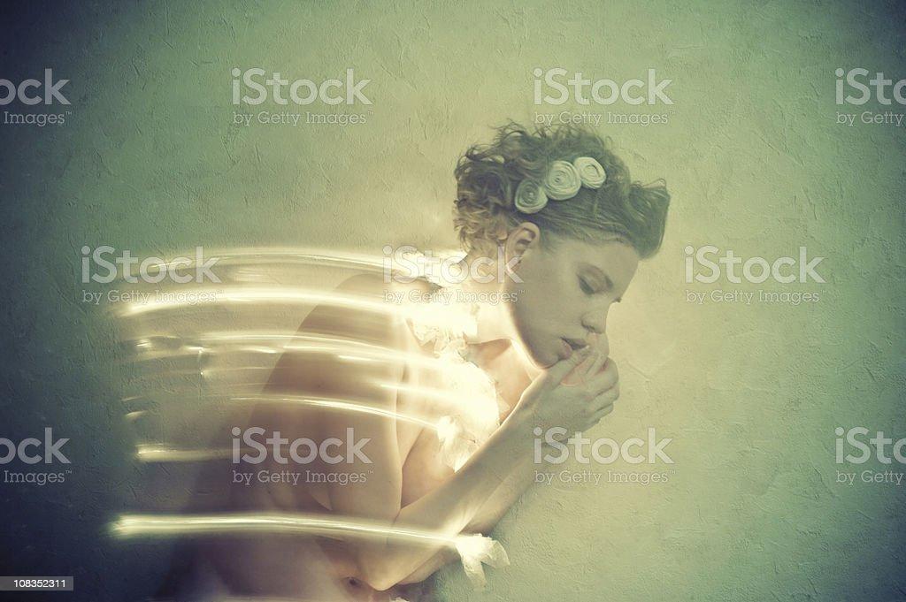 La théorie de l'énergie. Slipness. royalty-free stock photo