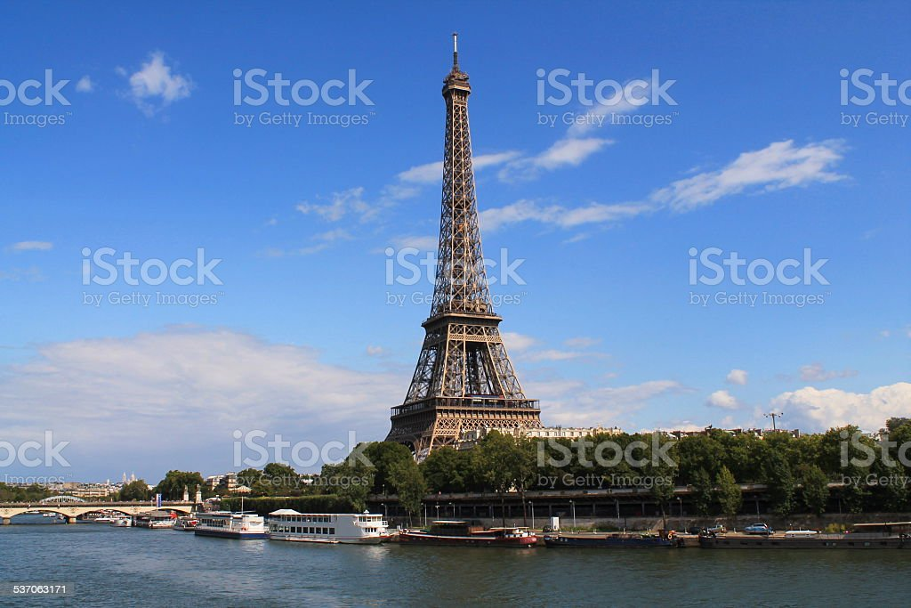 La Tour Eiffel ? Paris, France stock photo